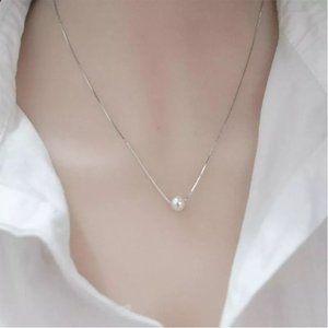 925 Sterling Silver Paper Crane Necklaces